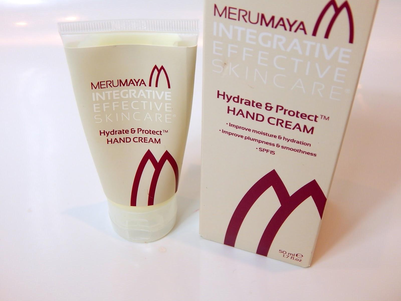 merumaya hydrate and protect hand cream