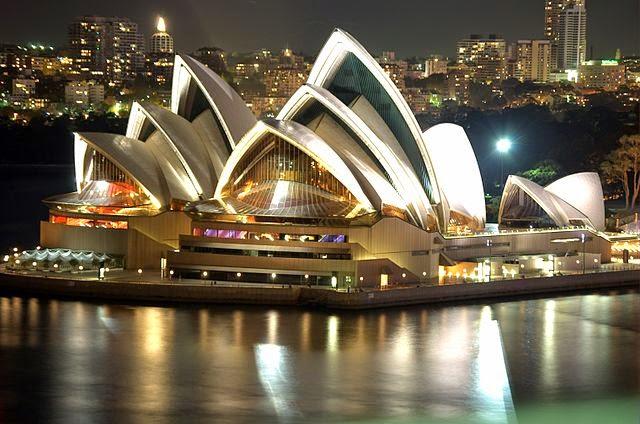 Sehenswürdigkeit Opera House in Sydney