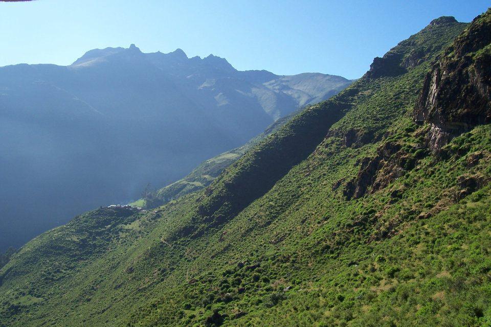 Huallan, un paraíso en las alturas