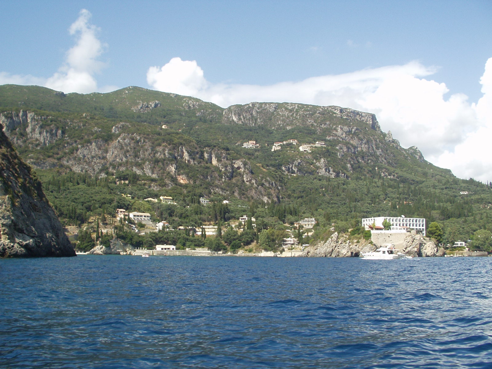 PSTRAVELCORFU  Paleokastritsa Beach Corfu