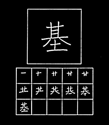 kanji landasan
