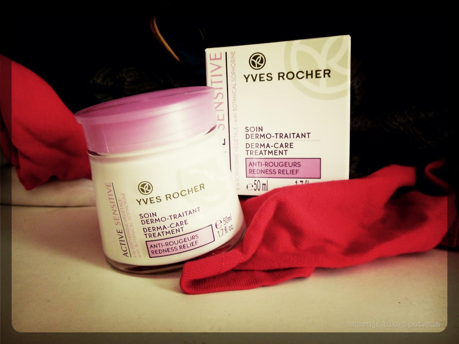 Yves Rocher – Active Sensitive –krem na zaczerwienienia [recenzja]