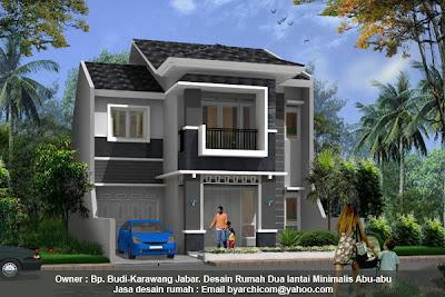 esain rumah dua lantai, jasa desain rumah, gambar rumah, gambar rumah murah, desain rumah minimalis