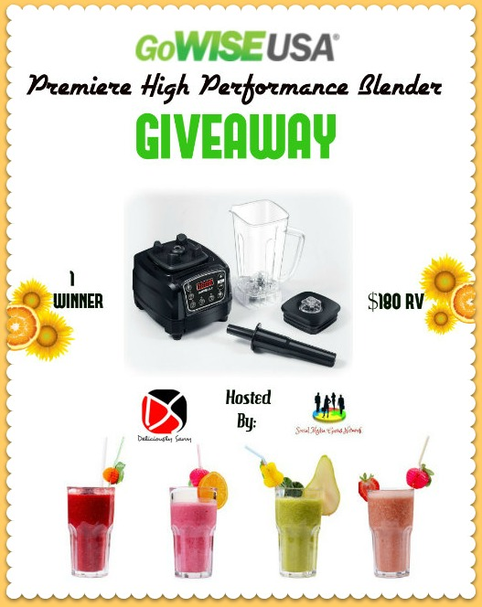 GoWISE USA High Performance Blender