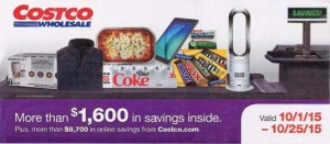 Current Costco Coupon October 2015