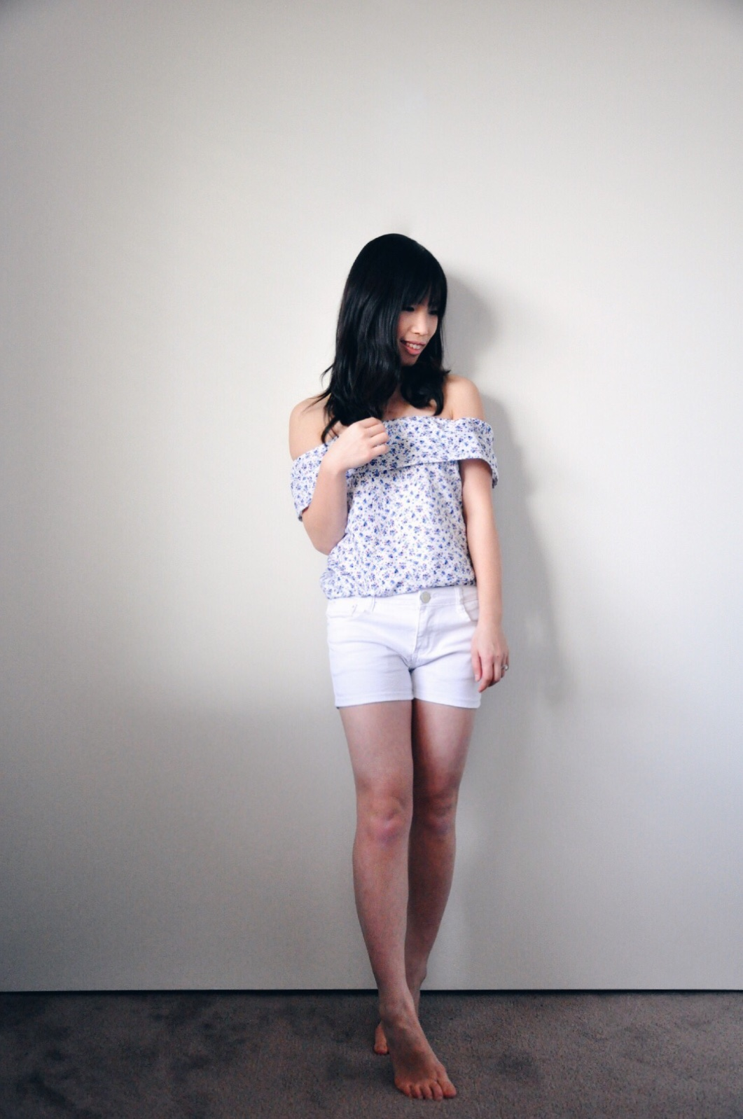 selfish sewing craft summer spring blouse top