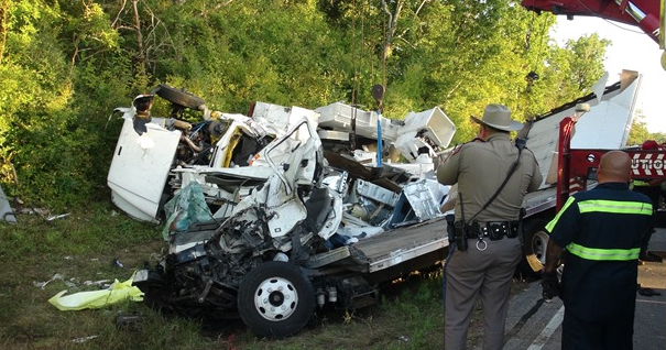 Box Truck Bucket Truck In Fatal Accident On Fm149 In