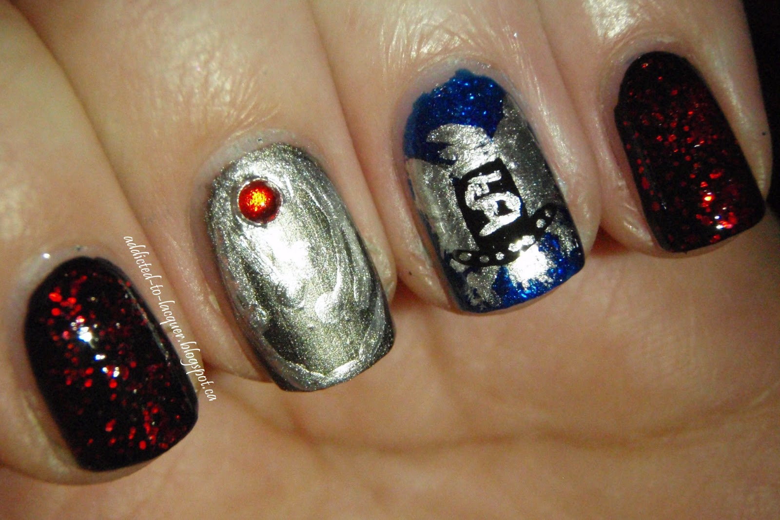 Addicted to Lacquer: TV Inspired: The Vampire Diaries