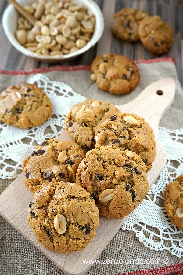 Ricetta biscotti con burro di arachidi per celiaci e senza latticini Flourless peanut butter cookies recipe