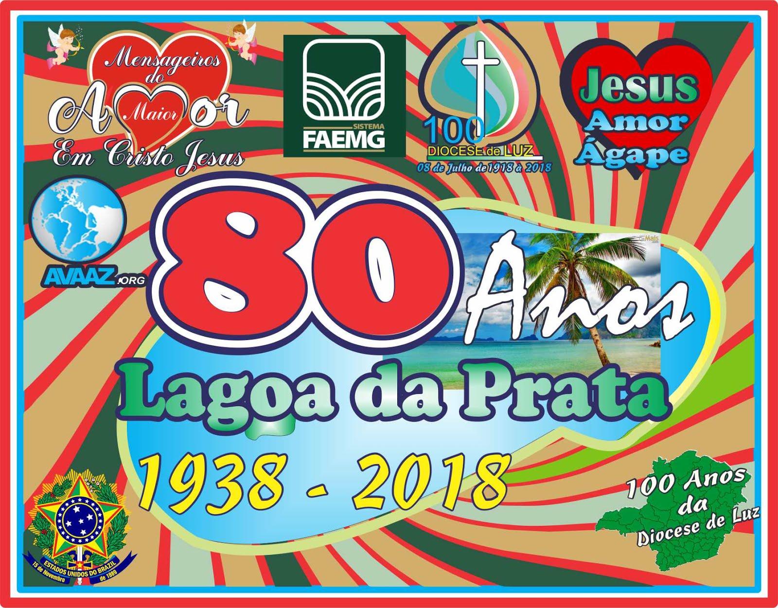80 Anos da Emancipação de São carlos do Pântano Para Lagoa da Prata