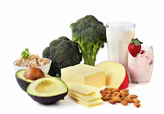Calcium and Vitamin D to maintain bone health