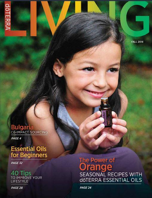doterra Living Magazine