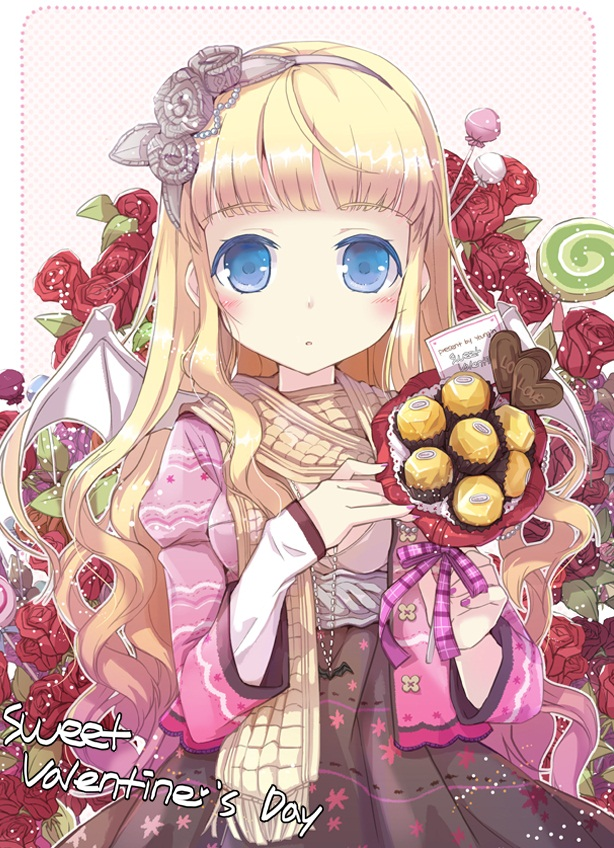 anime sweets,anime candy,valentines day