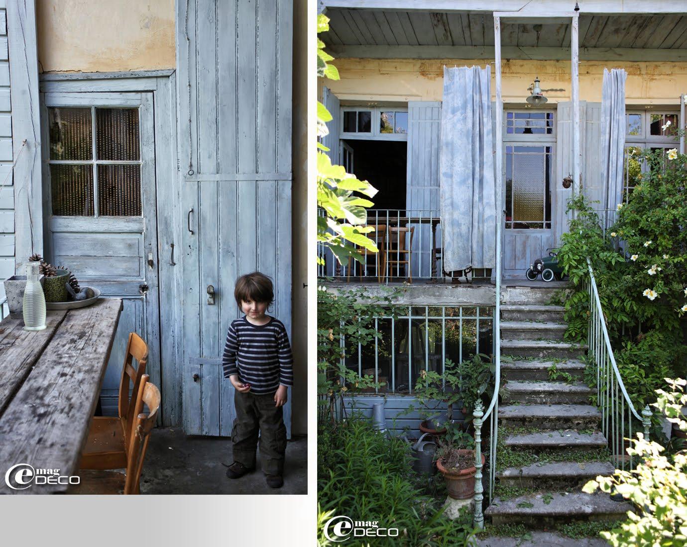 Côté jardin, la maison de Miss Clara à Bordeaux