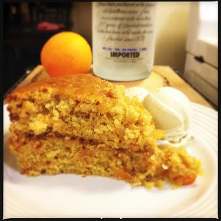 The Lush Chef: Sticky Orange Cake with Vodka & Marmalade Glaze