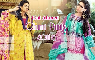 Gul Ahmed Chunri Prints