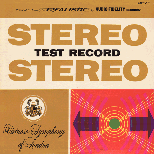 No Artist - Stereo Test Record 5 Hz - 45 kHz