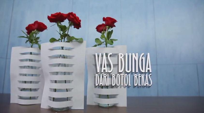 Membuat Vas Bunga Dari Botol Bekas Blog Edysantozo