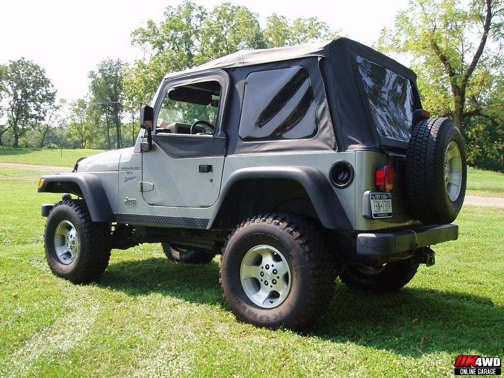 Jeep Wrangler Bed