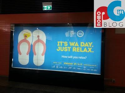Celebrate WA: Promotional Flip Flops Giveaway