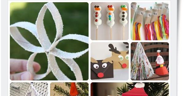 Ayuda para maestros 10 manualidades de navidad para - Manualidades de navidad ninos ...