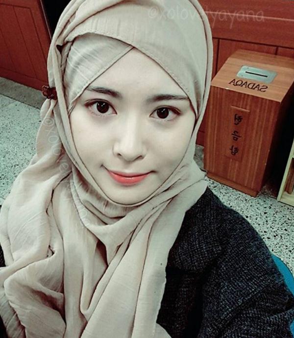 MELETOP! Gambar Viral Gadis Kpop Terlajak Cantik Kini Jadi Muslimah Terbongkar... OHSEM!!