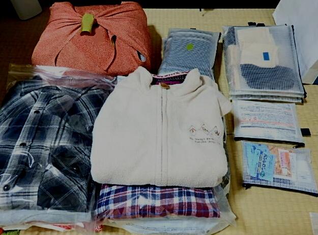 fudan-color: 7泊帰省の荷物 : 天気予報 洋服 : すべての講義