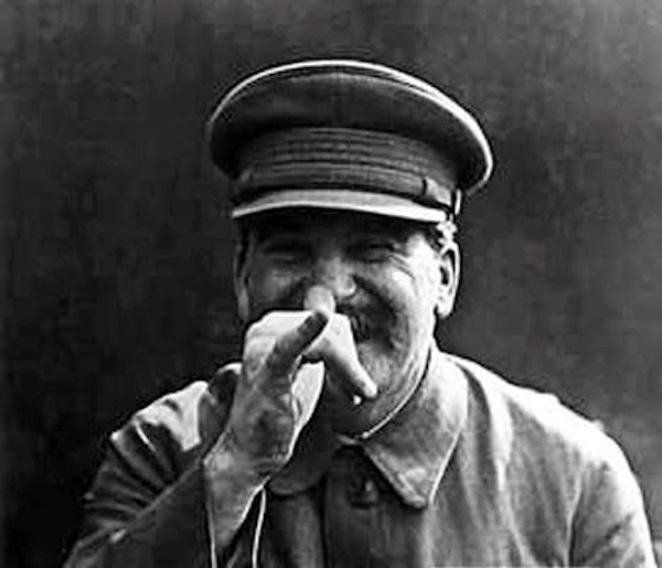 Image result for Stalin showing middle finger