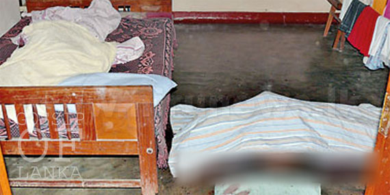 A couple Murdered in Home by assaulting with sharp weapons in Ambalangoda