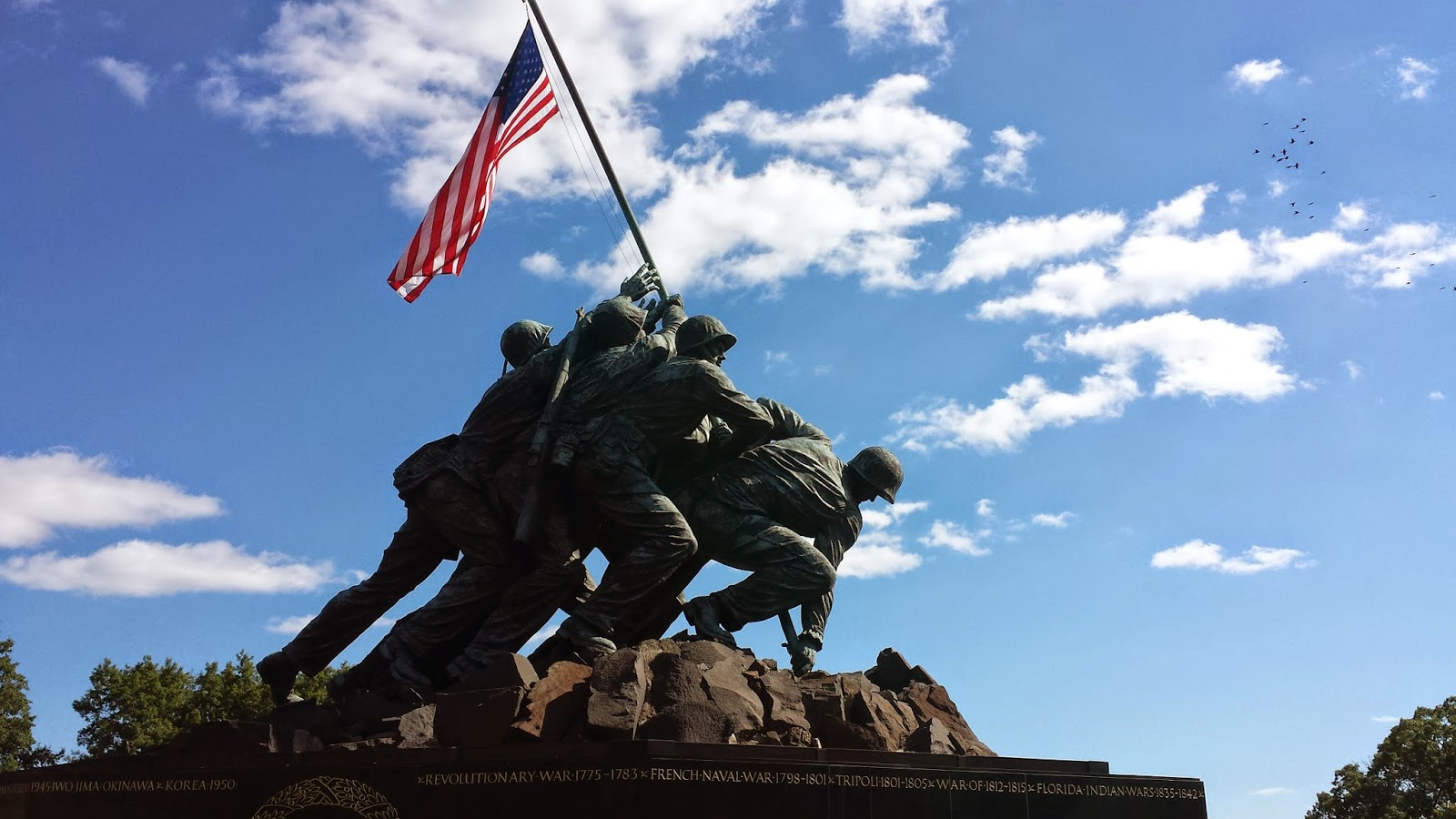 the united states marine corps war memorial represents this nation s gratitude to marines and those who have fought beside them while the statue depicts