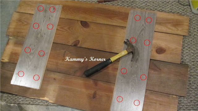 Kammy 39 S Korner Diy Barn Wood Siding Headboard