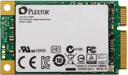 Plextor M6M mSATA SSD