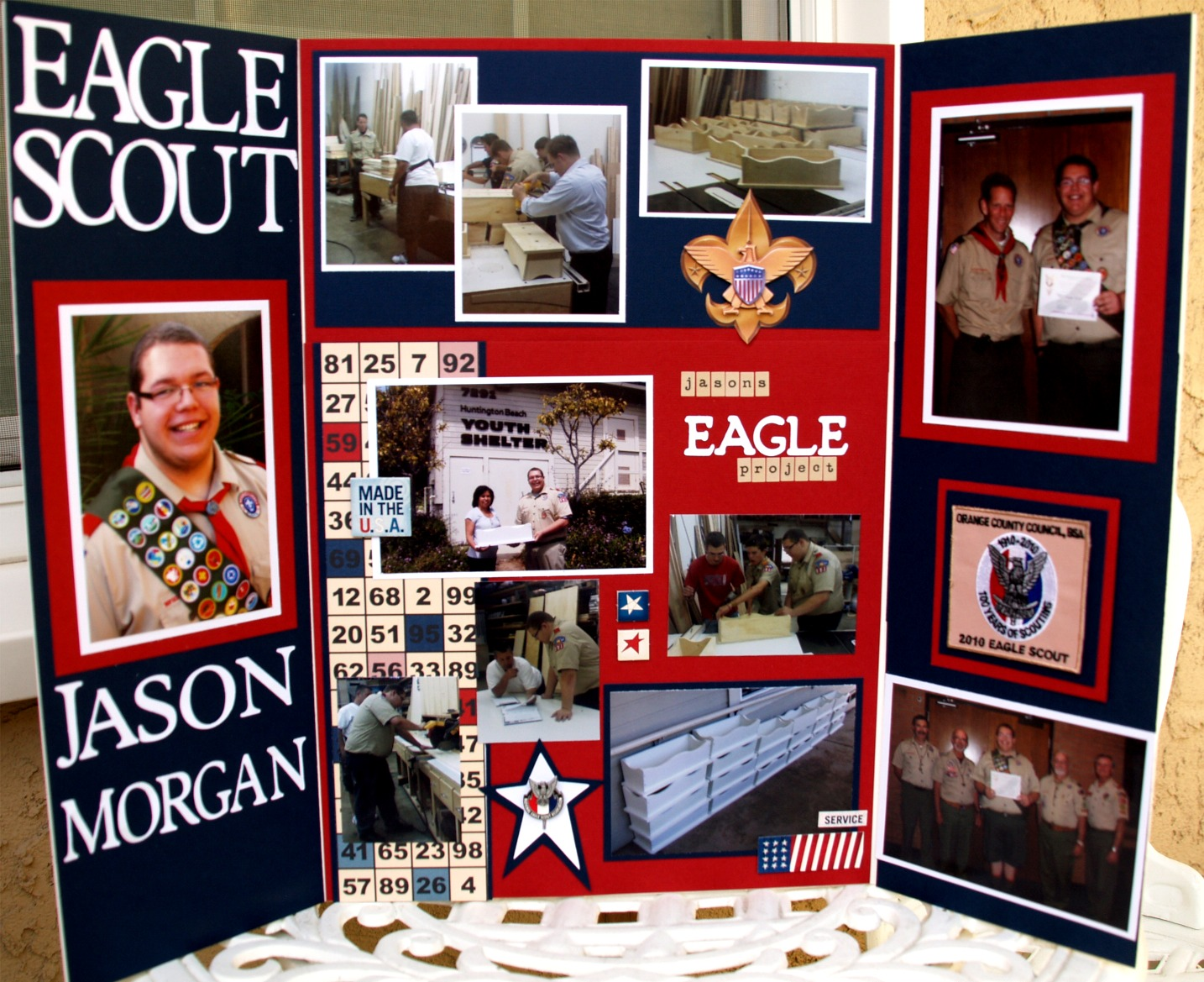 K E Morgan Designs Jasons Eagle Court Of Honor