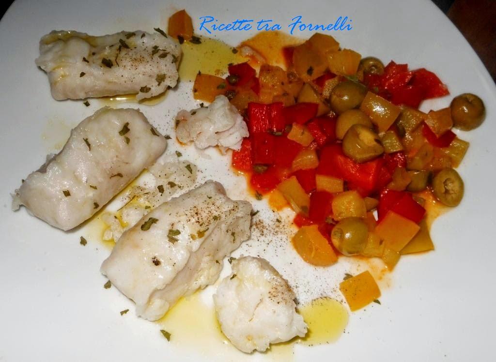 peperoni in padella con capperi e olive