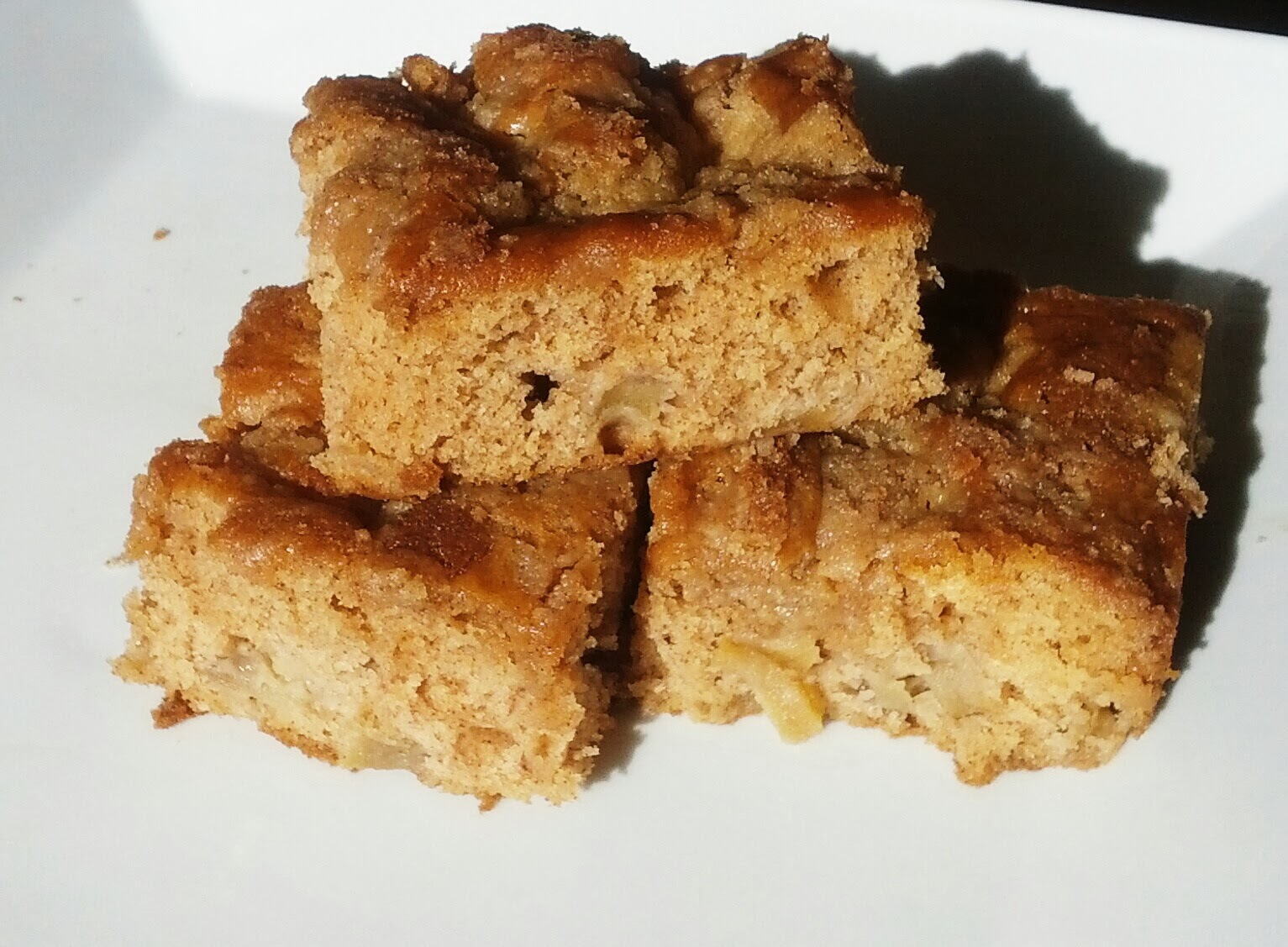 Yipson Foods Recipes and Blog: Apple Coffee Cake with Crumble Topping
