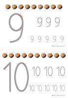 kaligrafia cyfr do wydrukowania-orzechy