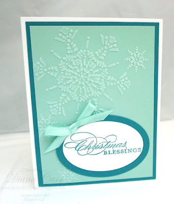 Christmas Blessings Card - Stampin' Up!