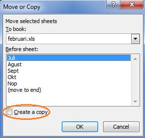 Cara copy sheet excel agar hasinya tetap