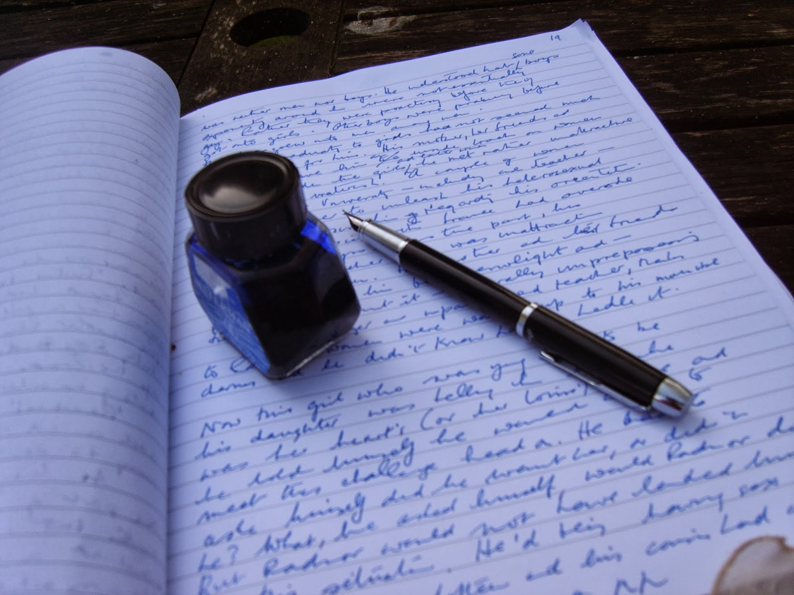 Displaying 14> Images For - Person Writing A Letter...