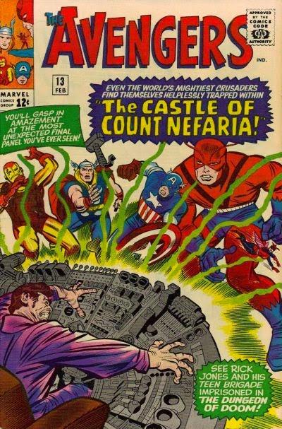 Avengers #13, Count Nefaria