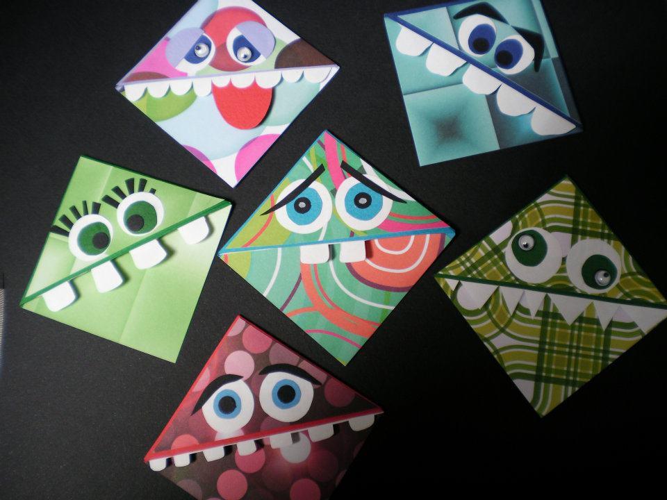 Marque pages en papier - Fabriquer un marque page ...