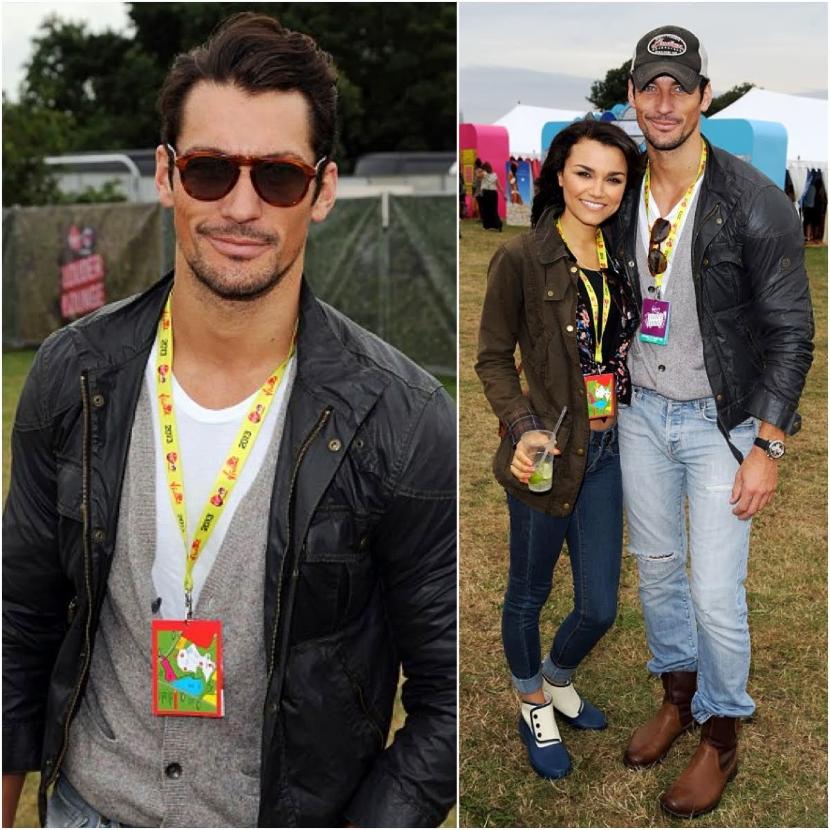 00O00 Menswear Blog: David Gandy's Belstaff 'S Icon' jacket - V Festival 2013