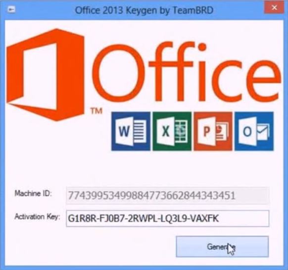 how to  crack microsoft office 2013