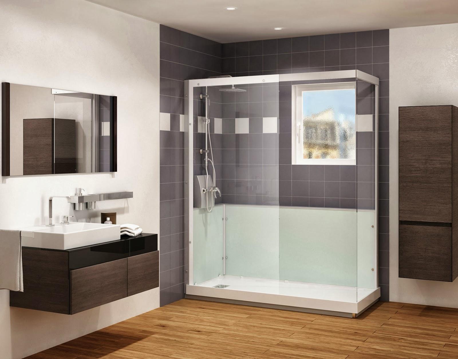 Baño Con Ducha Sin Plato:easy ducha incluye el plato de ducha la mampara la grifería y los