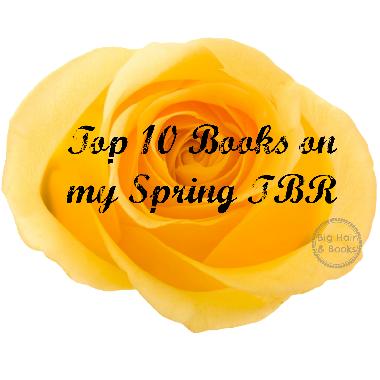 Big Hair and Books Top 10 Books on my Spring TBR
