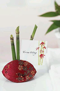 Wedding Decor, oriental centerpieces