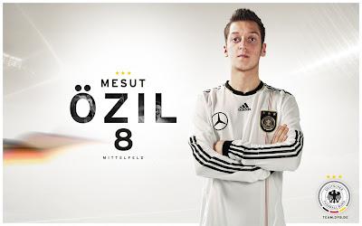 Mesut Ozil Germany National Football Team HD Desktop Wallpaper