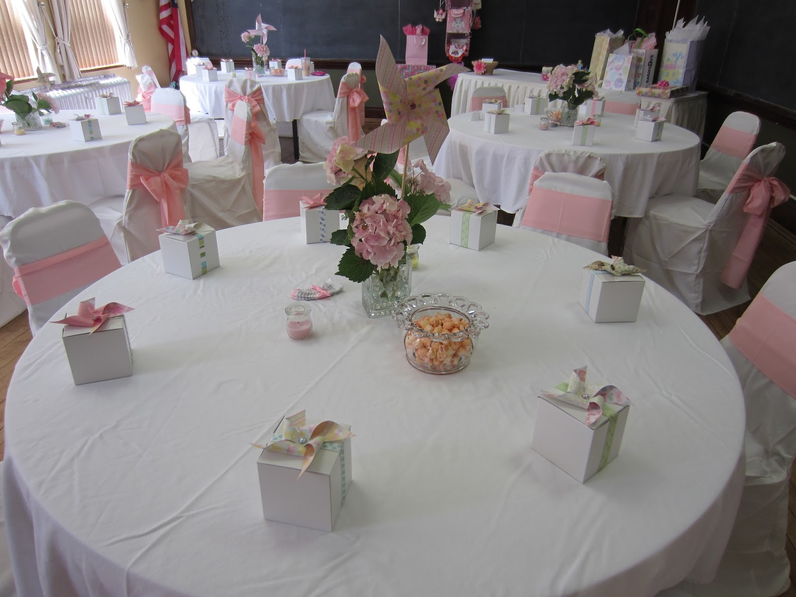 Pink And Gray Baby Shower Decorations Home Design Ideas