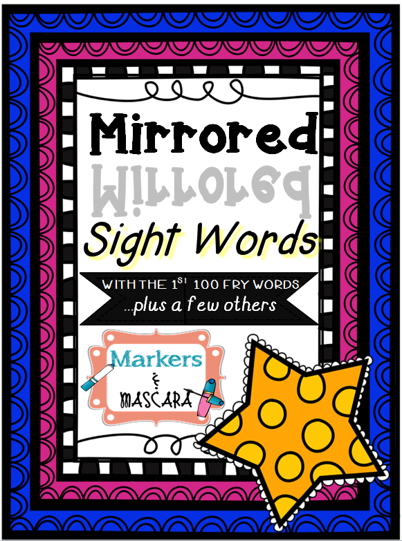 http://www.teacherspayteachers.com/Product/Freebie-Mirrored-Sight-Words-with-Fry-Words-1301760