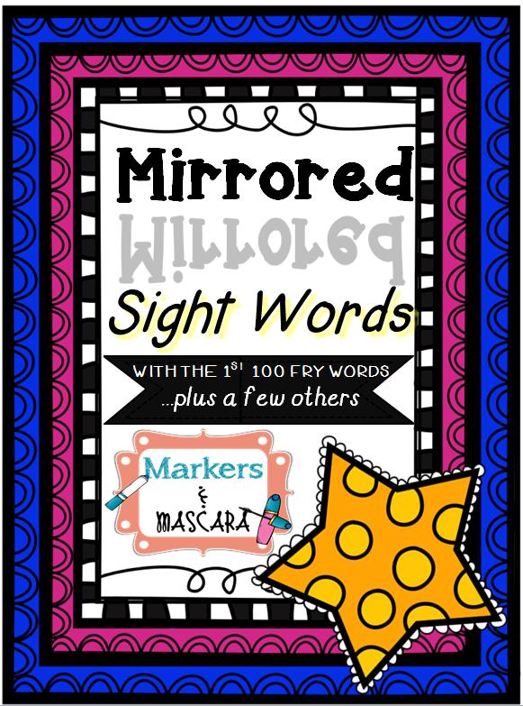 http://www.teacherspayteachers.com/Product/Freebie-Mirrored-Sight-Words-with-Fry-Words-1301760